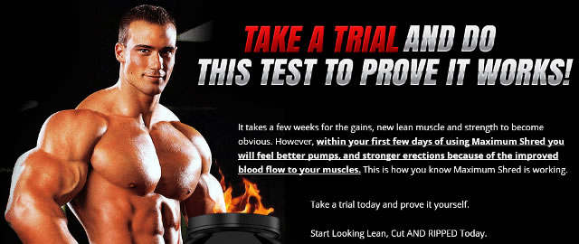 Maximum Shred Special Free Trial Offer